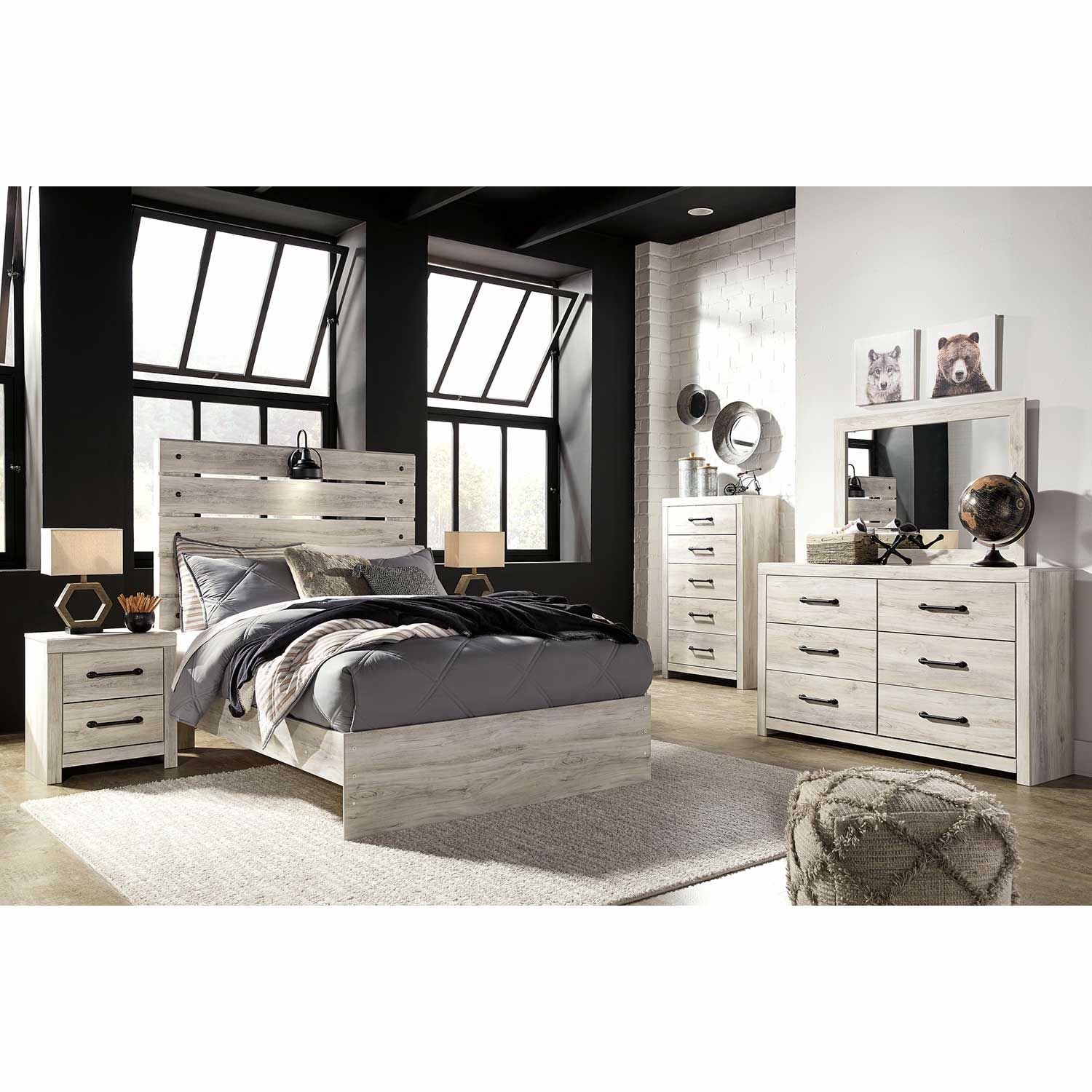 Picture of Cambeck Twin Panel Headboard