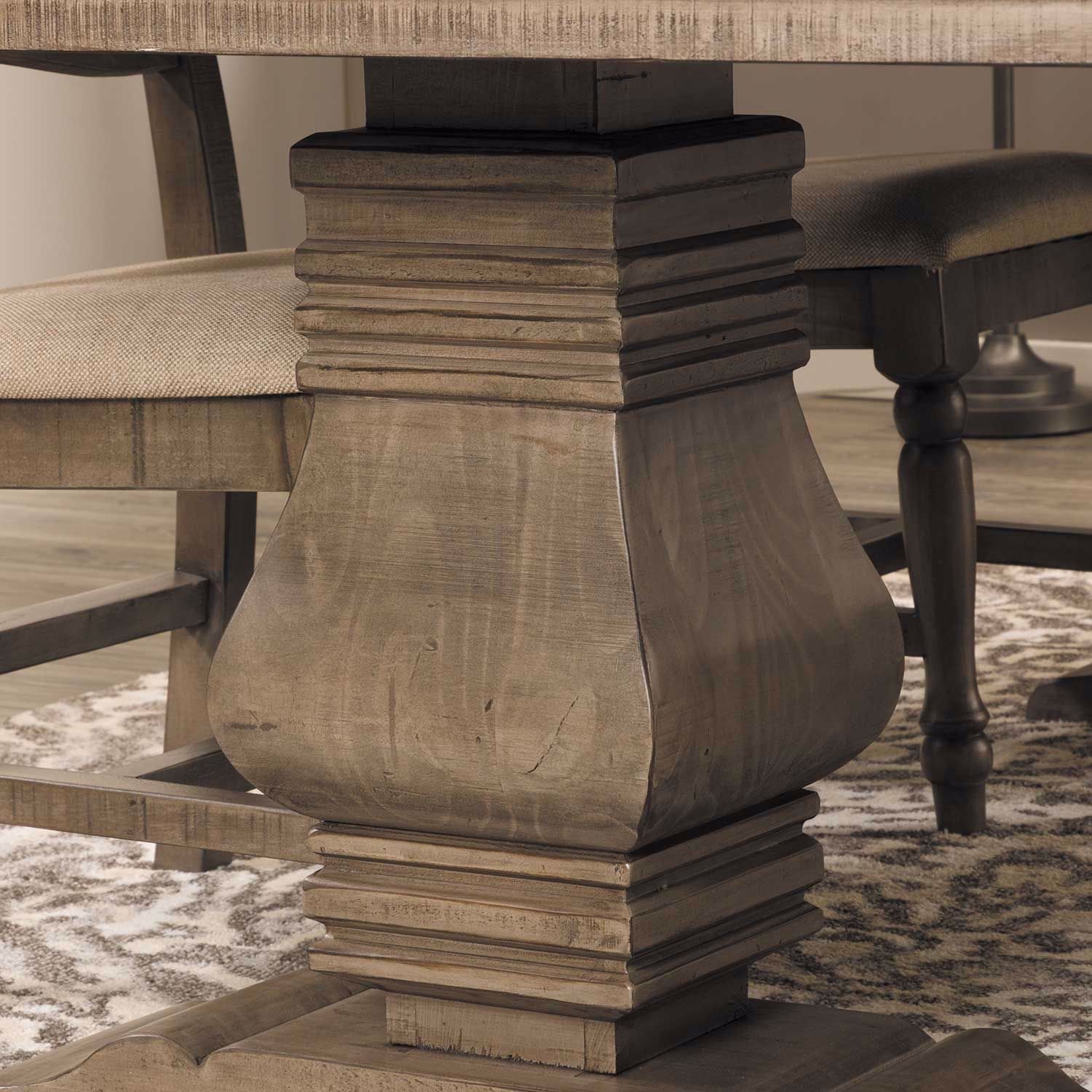 Picture of Palace Dining Table, Gray