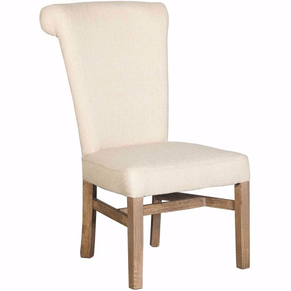 Picture of Palace Dining Gray Fabric Chair