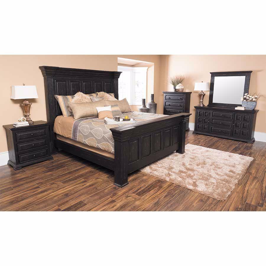 Black Isabella 5 Piece Bedroom