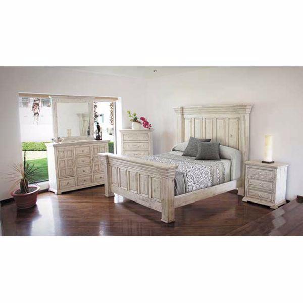 Isabella White 5 Piece Bedroom
