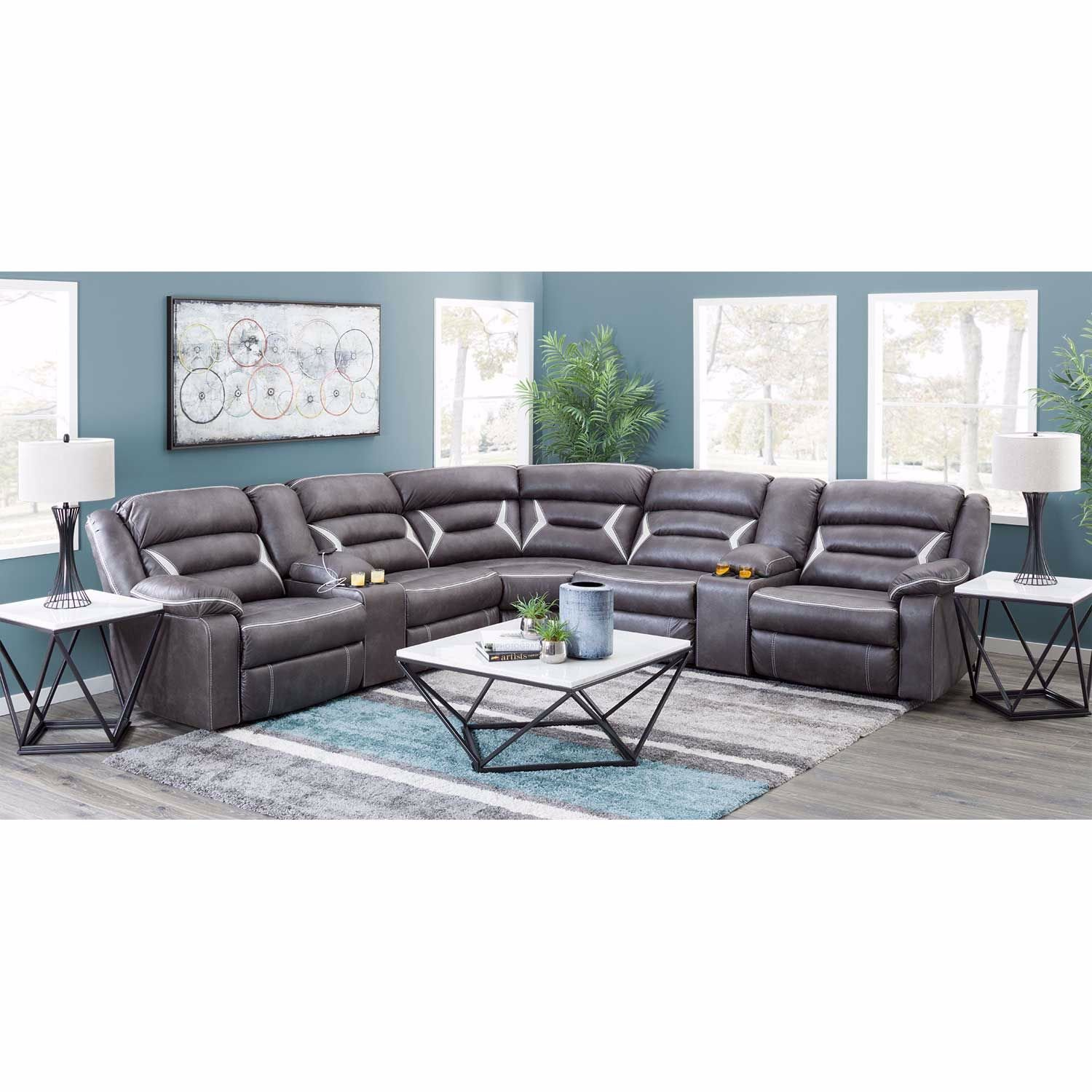Picture of Kincord 3PC Power Recline Sectional