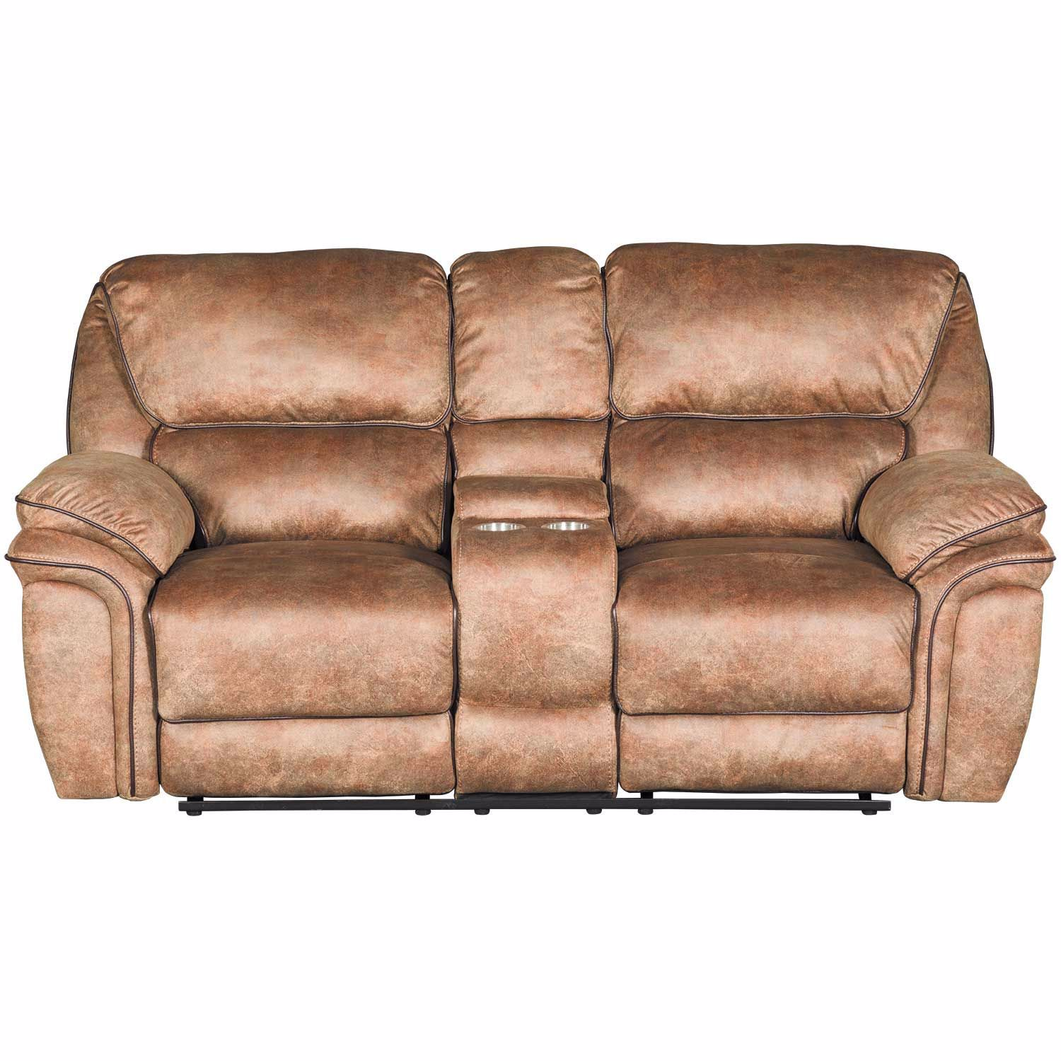Picture of Buffalo Reclining Console Loveseat