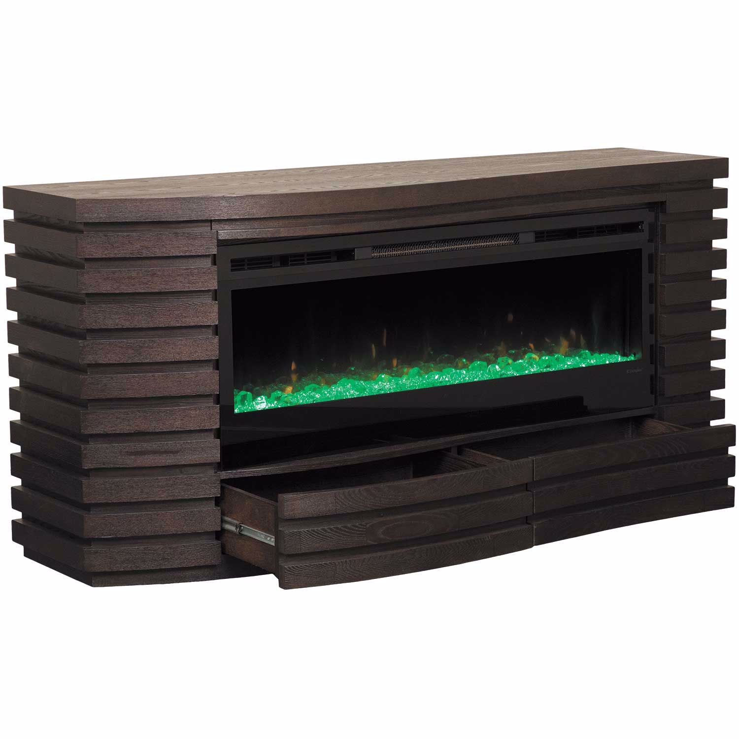 Picture of Elliot Fireplace Console