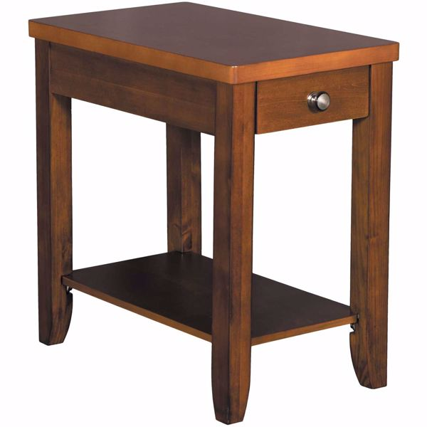 Picture of Brown Chairside Table