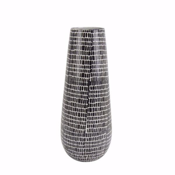 Picture of Black Cobble Vase