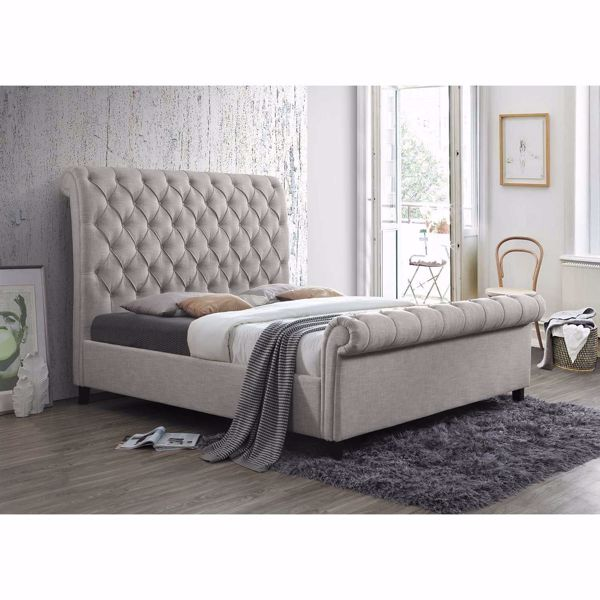 Kate Upholstered Queen Bed 5103 Qhb, Afw Queen Bed Frame