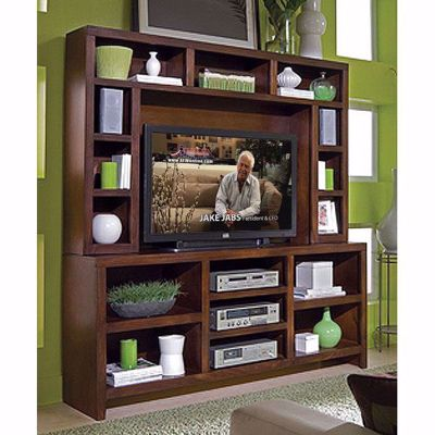 "Picture of 74"" Essentials TV Console and Hutch"