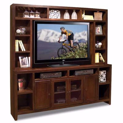 "Picture of 84"" Essentials TV Console and Hutch"
