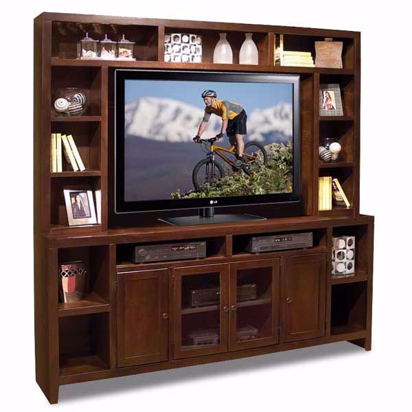 """Picture of 84"""" Essentials TV Console and Hutch"""