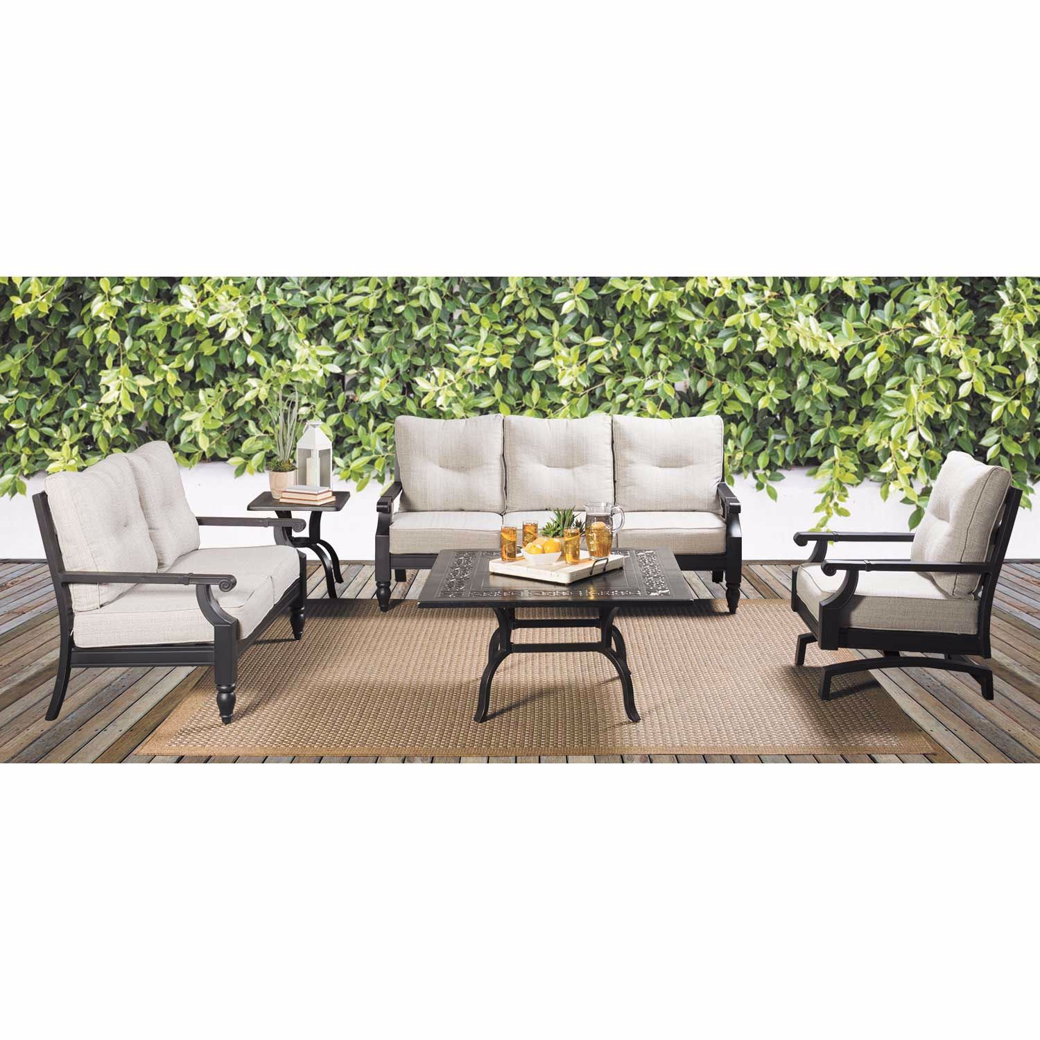 Picture of Ashville Patio Loveseat with cushion