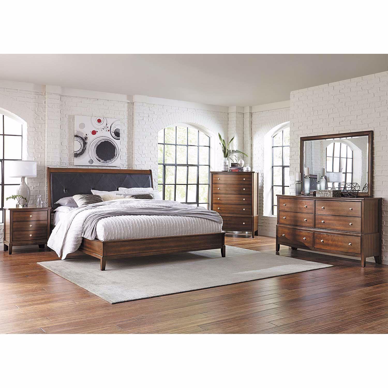 Krakow 5 Piece Bedroom Set
