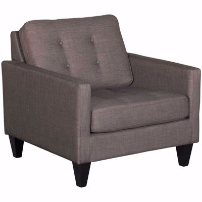 Picture of Petrie Charcoal Tufted Accent Chair