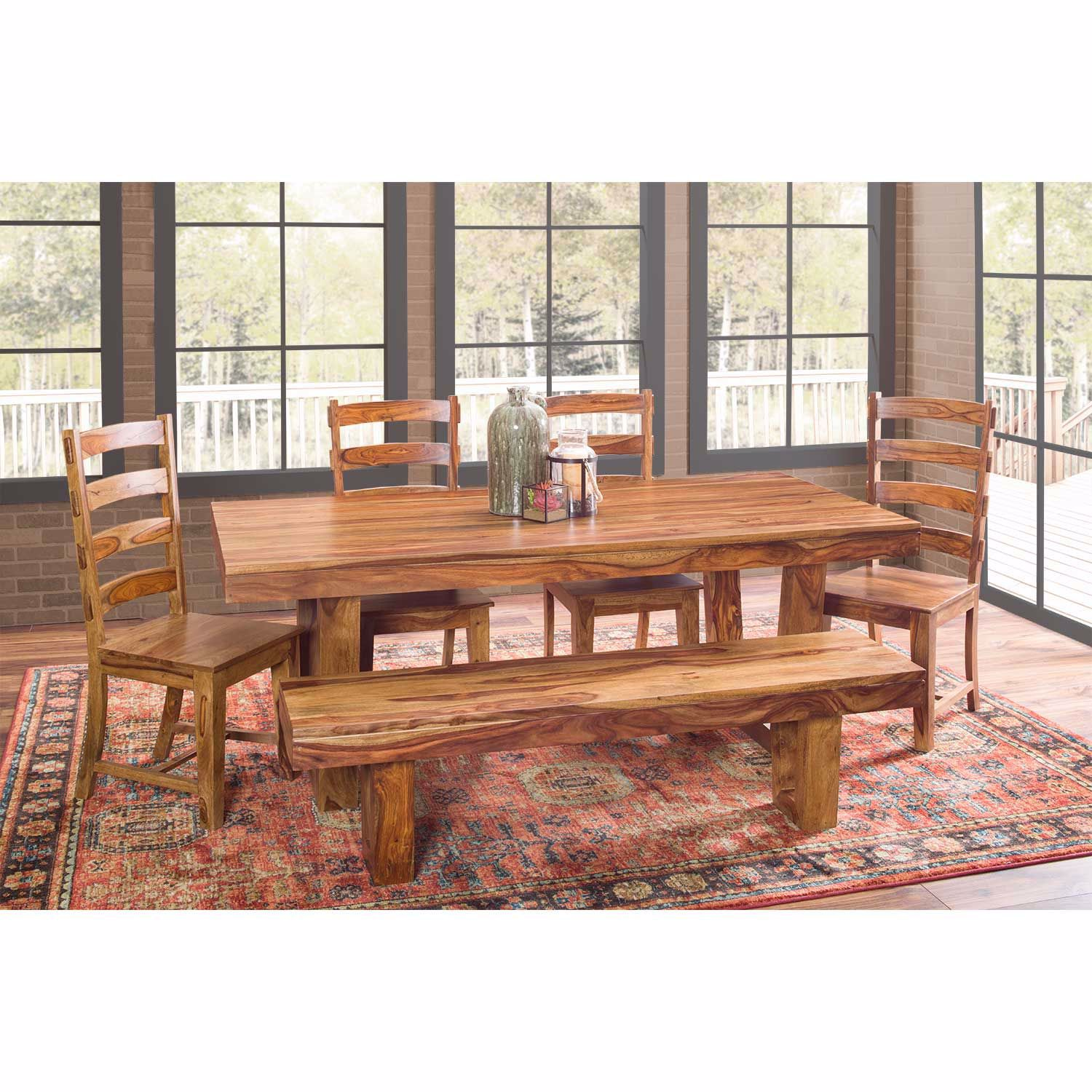 Picture of Prana Cinnamon Dining Bench