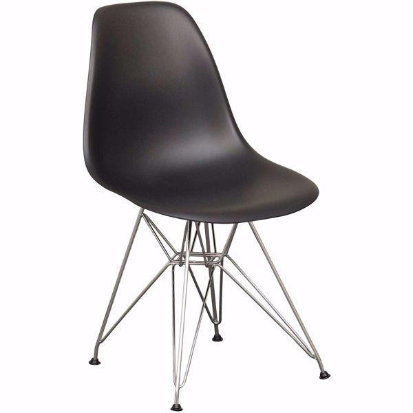 Picture of Eiffel Chrome Black Chair