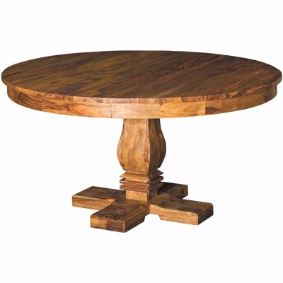Picture of Cinnamon Prana round Pedestal Dining Table