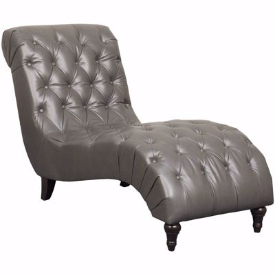 Picture of Rayna Durahide Tufted Chaise