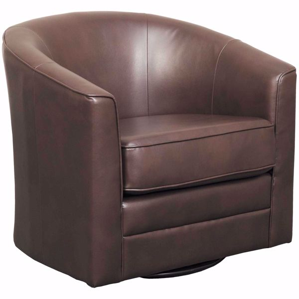 Picture of Grayson Chocolate Swivel Chair
