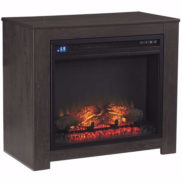 Picture of Harlinton TV Stand With Fireplace Included