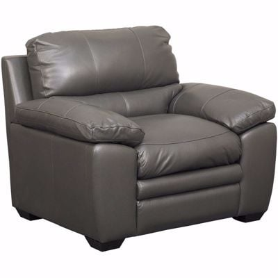 Picture of Logan Charcoal Leather Chair