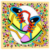 Picture of Sneakers and Candies 16x16 *D