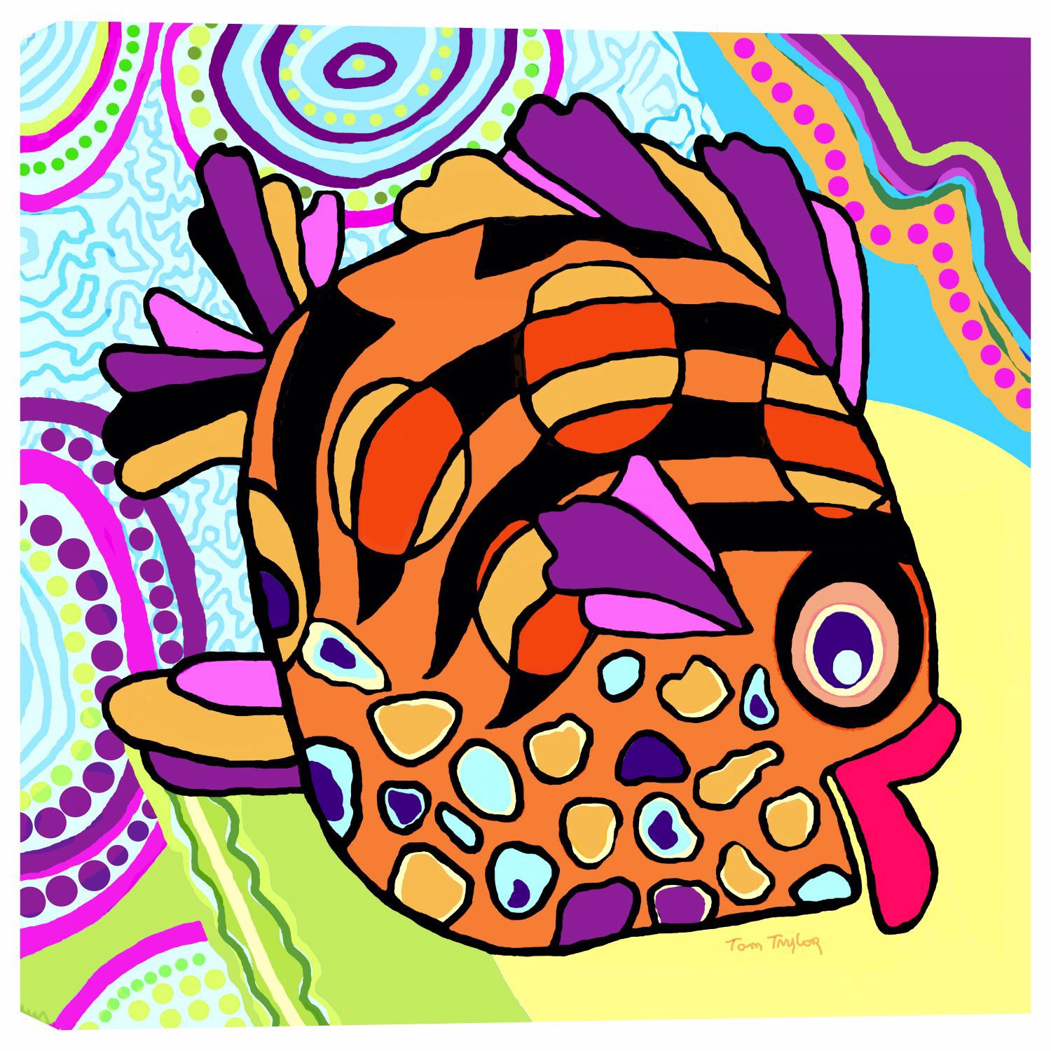 Picture of Fish Lips 24x24 *D