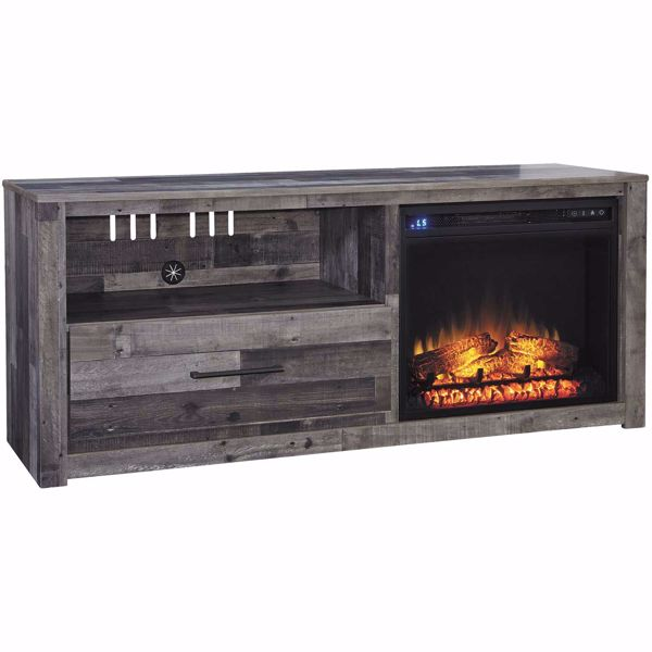 Picture of Derekson Fireplace TV Stand