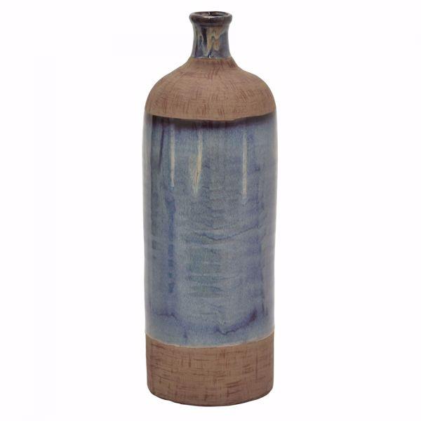 Picture of Blue Brown Ceramic vase
