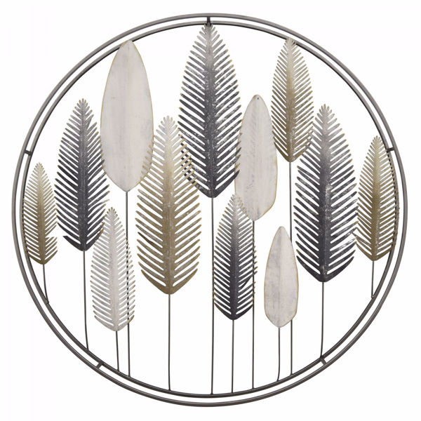 Picture of Metal Feather Wall Decor
