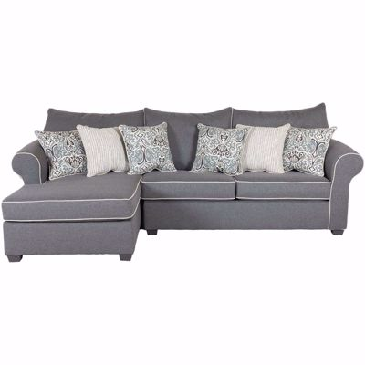 Picture of Winchester Gray 2 Piece Sectional