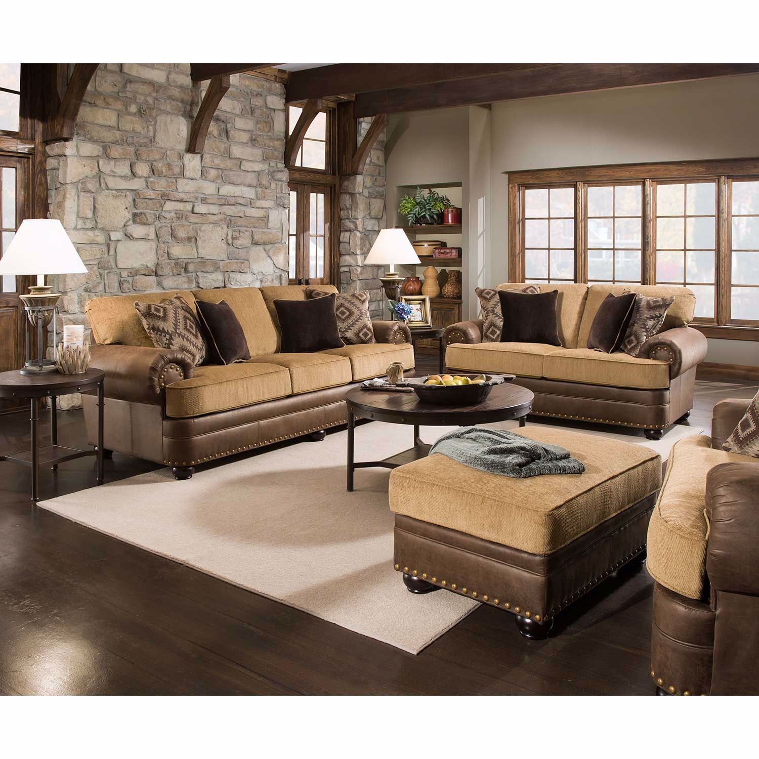 Picture of Lattimer 2 Tone Sofa