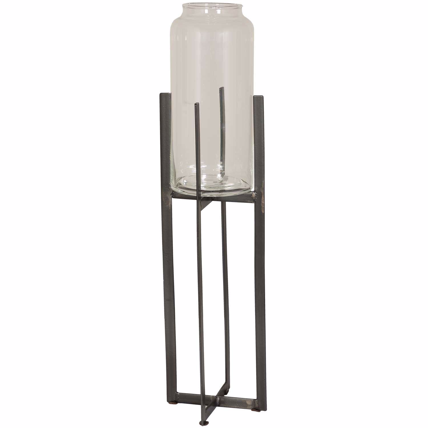 Picture of Glass Holder on Metal Stand