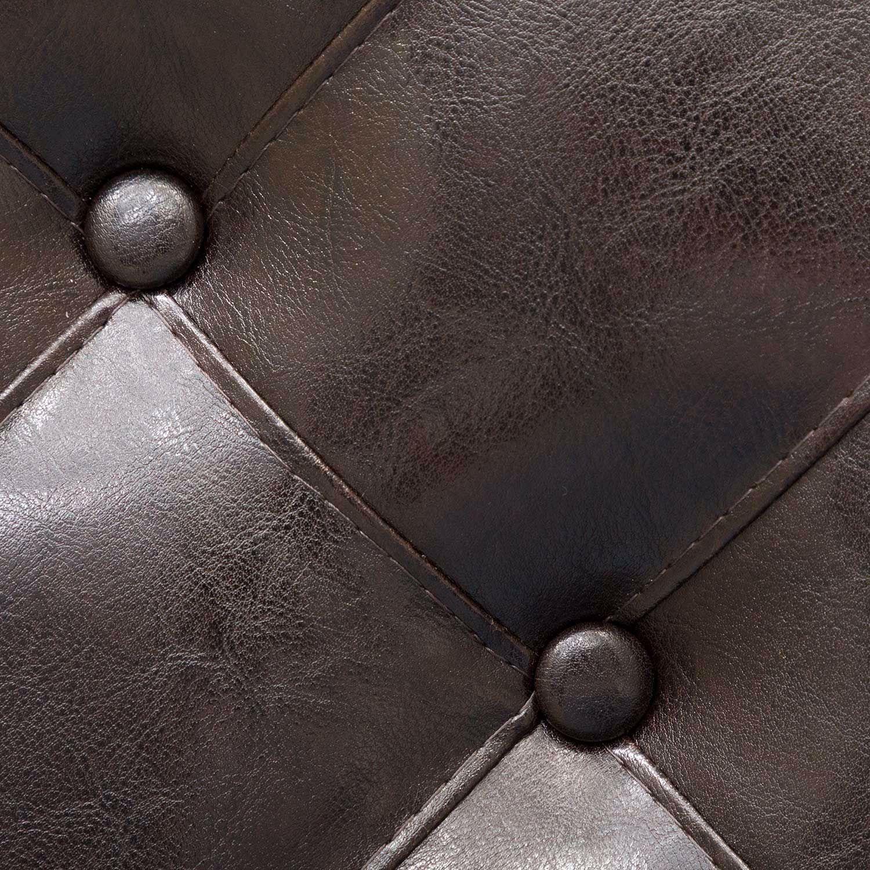 "Picture of Portman 30"" Espresso Saddle Stool Stool"