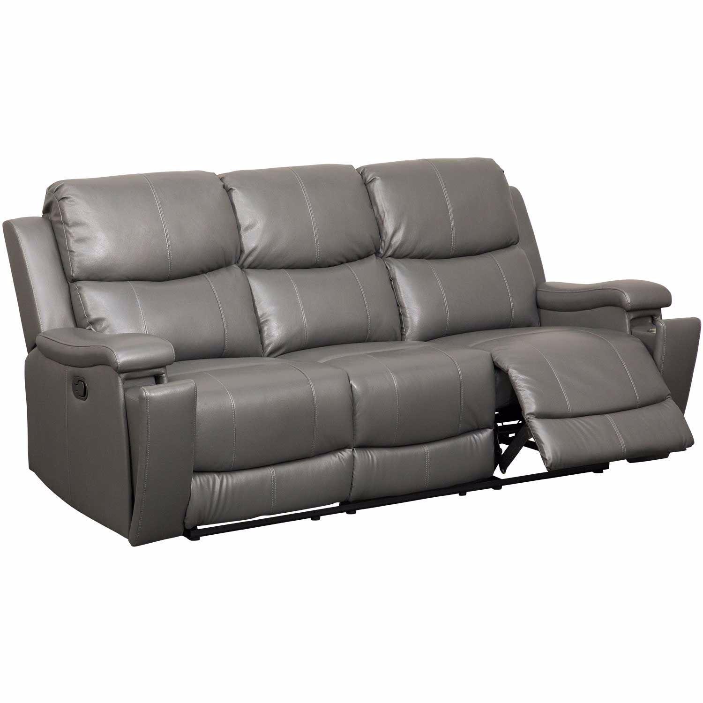 Dayton Leather Reclining Sofa