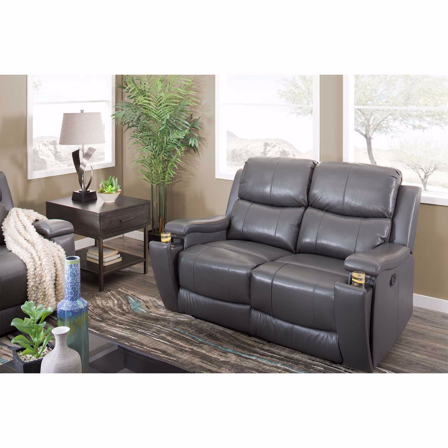 Picture of Dayton Leather Reclining Sofa