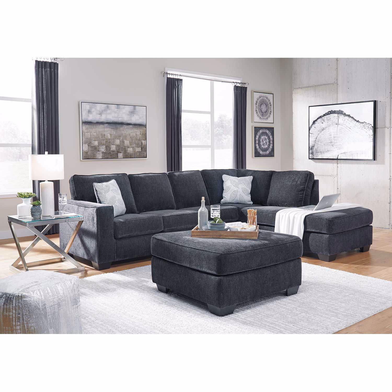 Picture of Altari Slate 2 PC Sectional with RAF Chaise