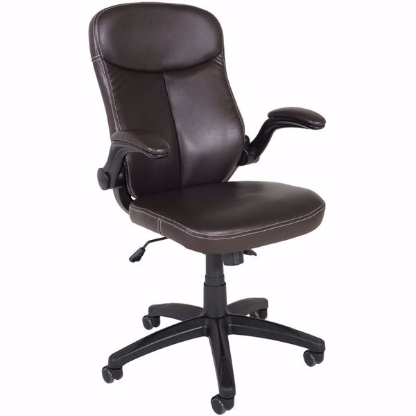 Picture of Brown Bonded Leather Office Chair
