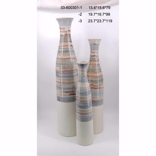 Picture of Blue Multi Ceramic Vase