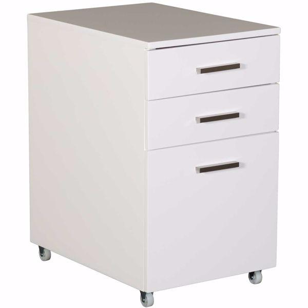 Picture of Baraga White File Cabinet