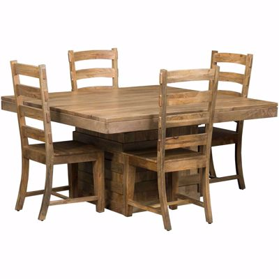 Picture of Vintage 5 Piece Square Table Set