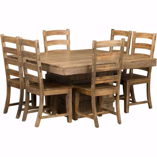 Picture of Vintage 7 Piece Square Table Set