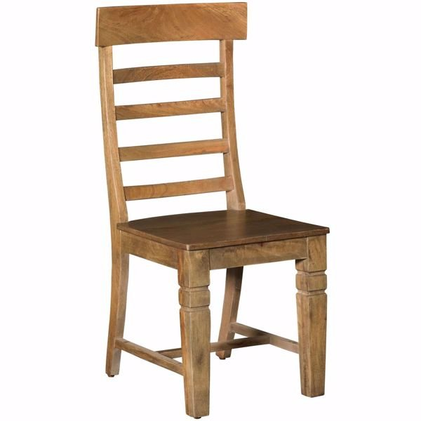 Picture of Vintage All Wood Side Chair