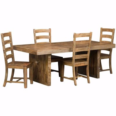 Picture of Vintage Rectangular Table 5 Piece Set