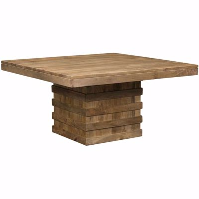 Picture of Square Pedestal Dining Table