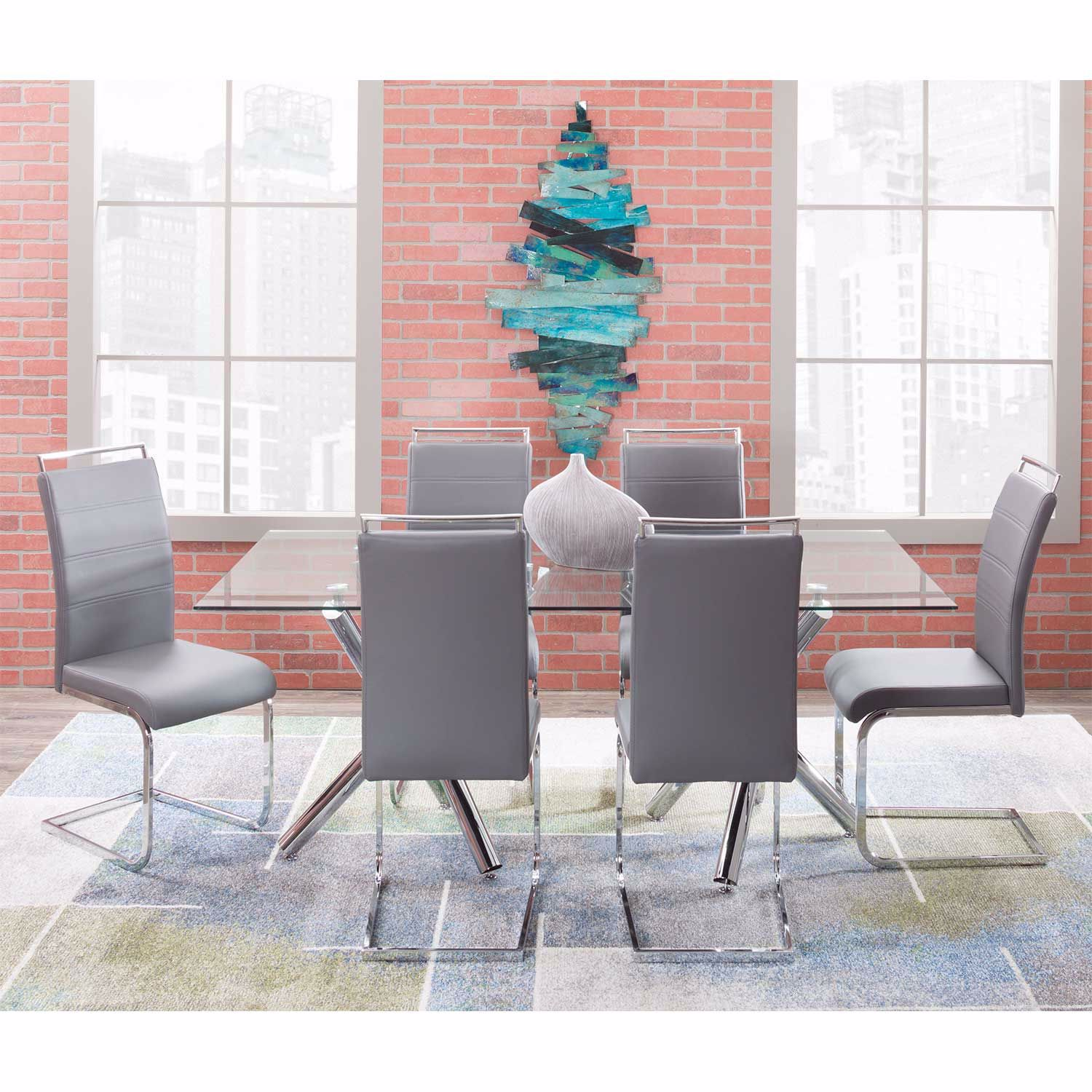 Picture of Oslo 7 Piece Dining Set