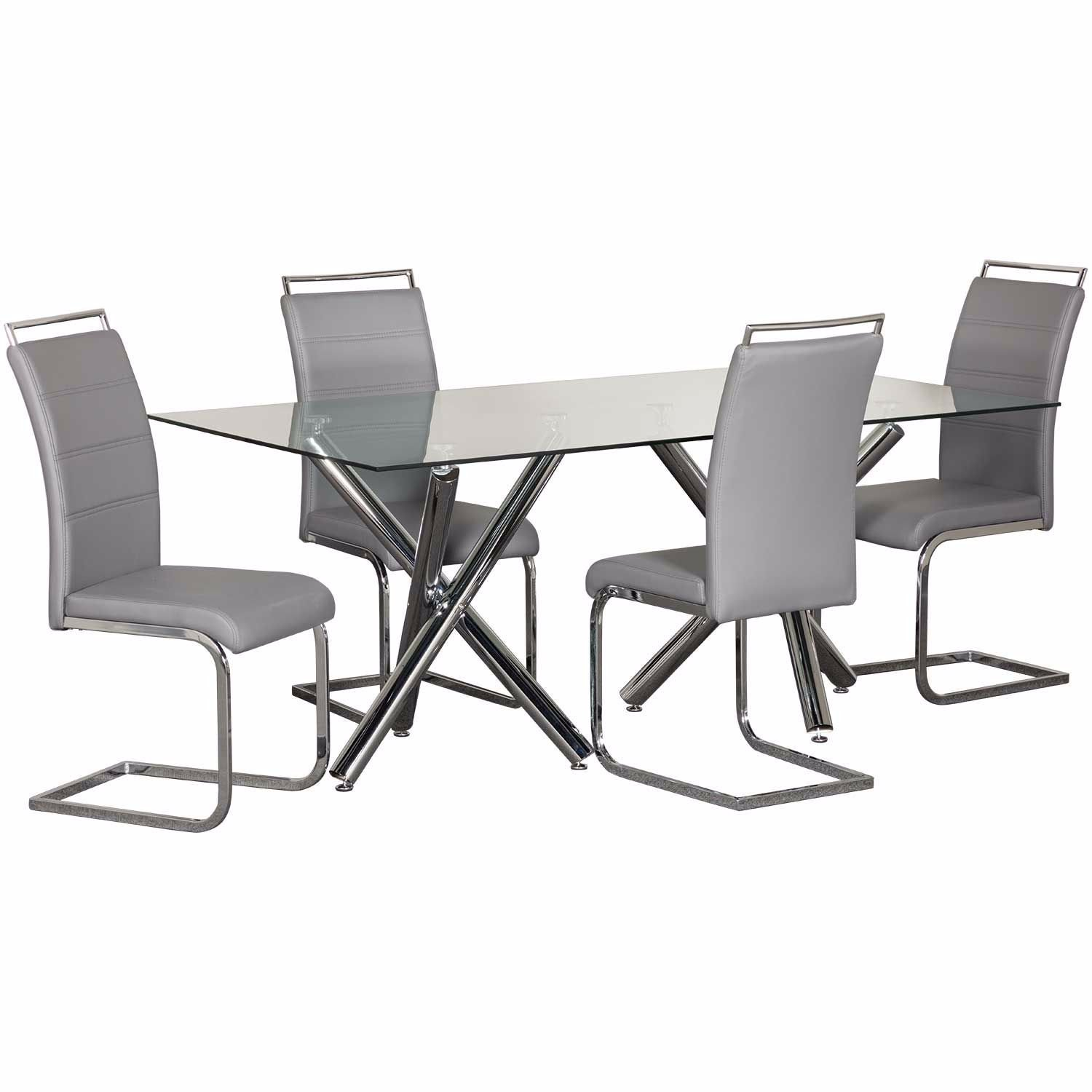Picture of Oslo 5 Piece Dining Set