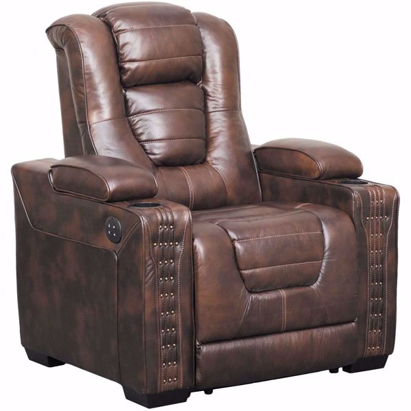 Picture of Big Chief Power Recliner with Adjustable Headrest