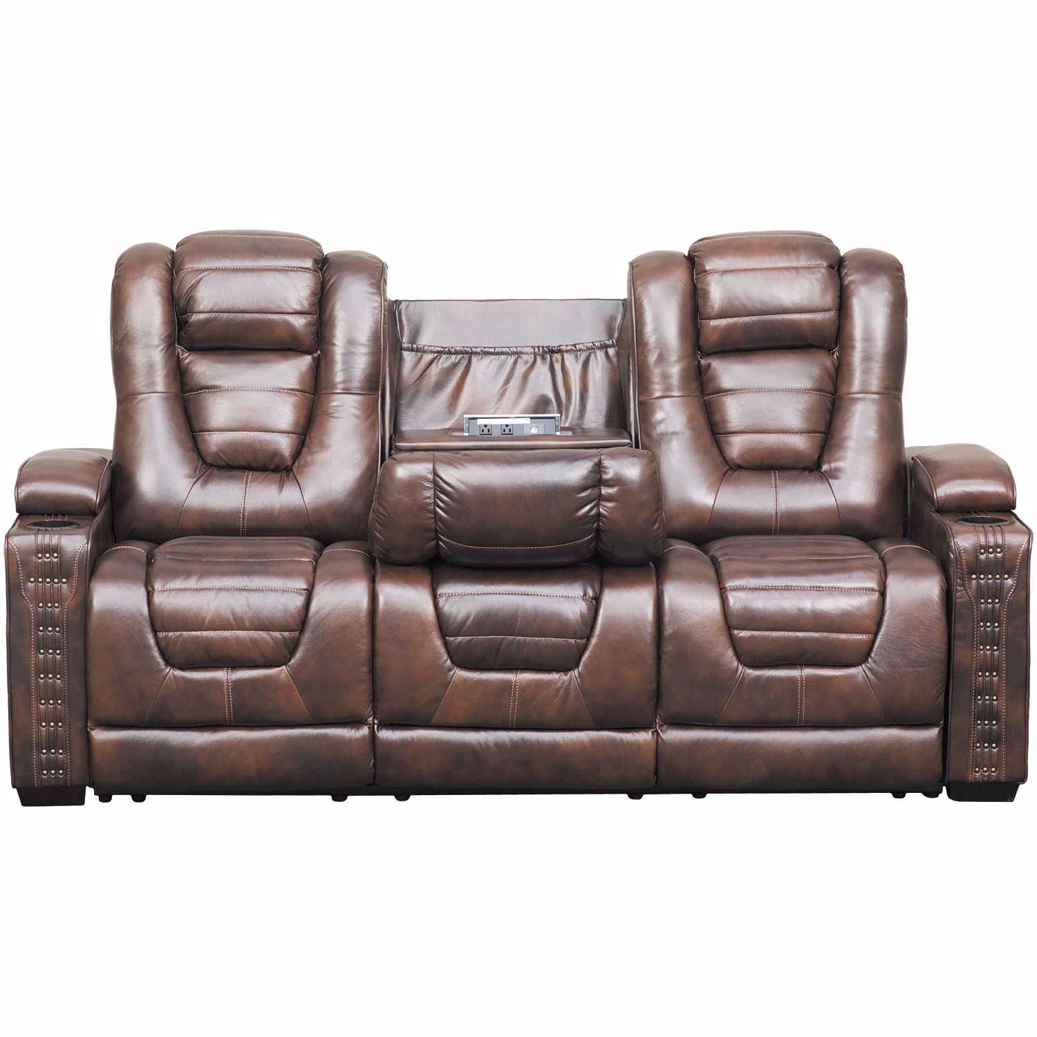 Miraculous Big Chief Power Reclining Sofa W Drop Table And Adjustable Headrest Pdpeps Interior Chair Design Pdpepsorg