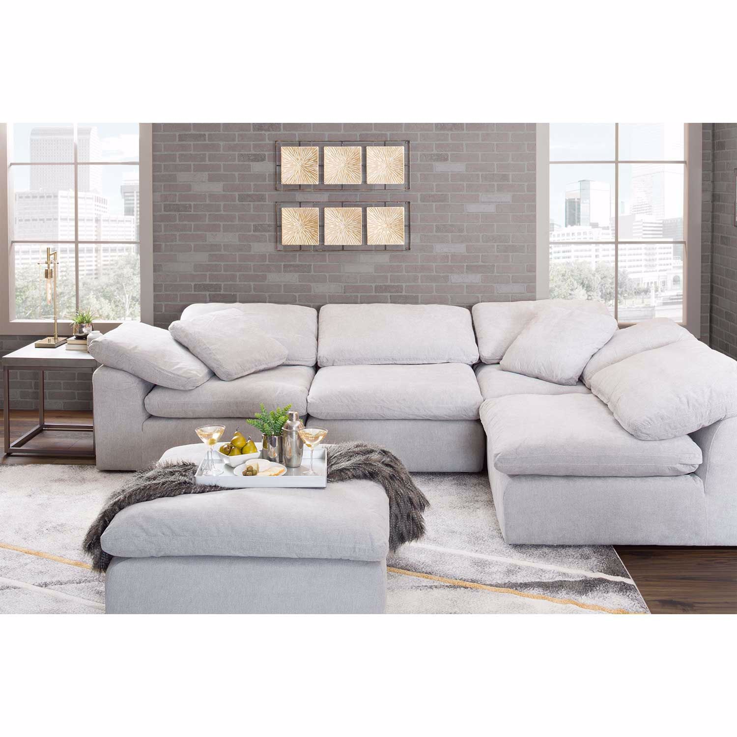 Picture of Slouch 4PC Sectional