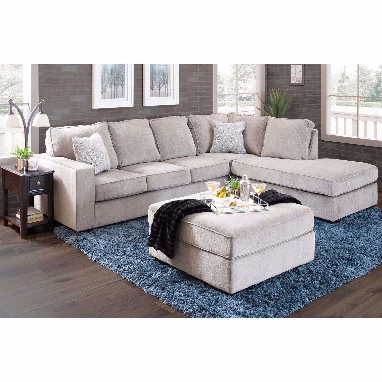 Altari Alloy 2 Pc Sleeper Sectional